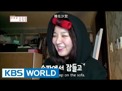 Writer Seulgi continues her work even at Red Velvet's dorm! (feat. Wendy)  [ENG/CHN/IDOT Ep.2]