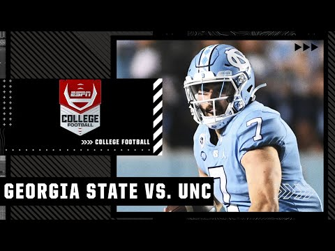 Georgia State Panthers at North Carolina Tar Heels   Full Game Highlights