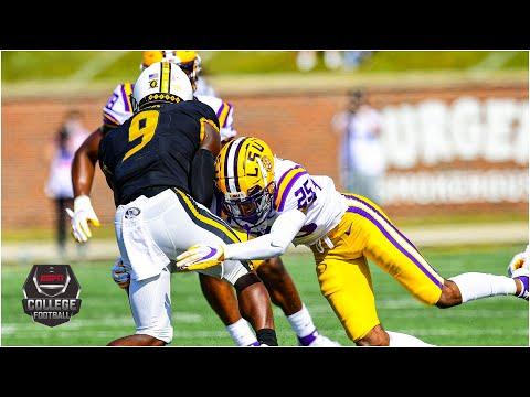 Missouri Tigers vs. LSU Tigers | 2020 College Football Highlights