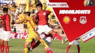 Highlights   Thanh Hóa - Phố Hiến   Đánh bại Phố Hiến, Thanh Hóa trụ lại V.League   VPF Media