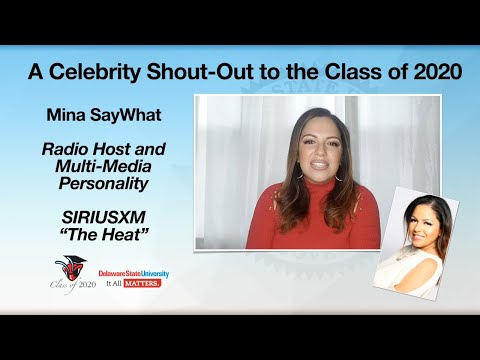 Mina SayWhat - Celebrity Shout Out