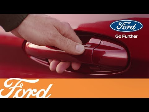 Der neue Ford Fiesta - KeyFree-System & Power-Startfunktion | Ford Austria
