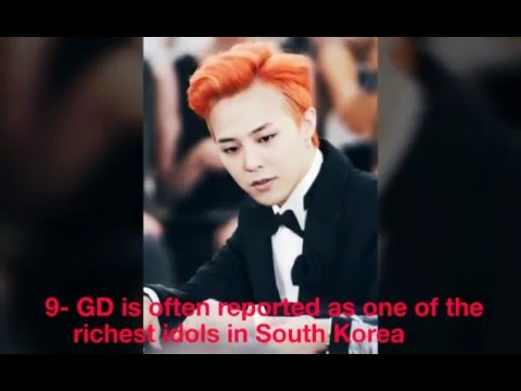 25 Facts about G-Dragon