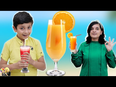 SUMMER DRINKS & COOLERS in 2 Minutes | DIY | Fire less Cooking | Aayu and Pihu Show
