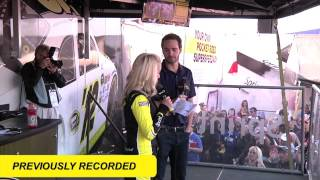 Jimmie Johnson Interview at the Sprint Experience