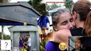 Am fost la mormantul lui  XXXTENTACION!!  *EMOTIONANT* :(((