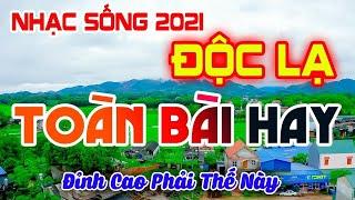 LK Nhạc Sống 2021 Mới Nhất - GIỌNG CA ĐỘC LẠ CẢNH ĐẸO 4K 2021 - Bolero RumBa NGƯỜI MẪU 2K