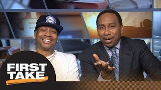 Allen Iverson discusses new book with Stephen A. Smith | First Take | ESPN