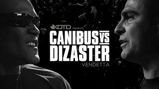 KOTD - Rap Battle - Canibus vs Dizaster - *Co-Hosted by DJ Skee* | #Vendetta