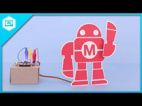 Waving Makey with Circuit Playground - PaperCraft