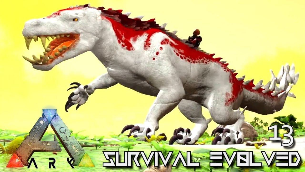 ARK: SURVIVAL EVOLVED - CADAVAREX CAT DRAGON MONSTER & TOXIC SABER E13 !!!  ( PRIMAL FEAR PYRIA )