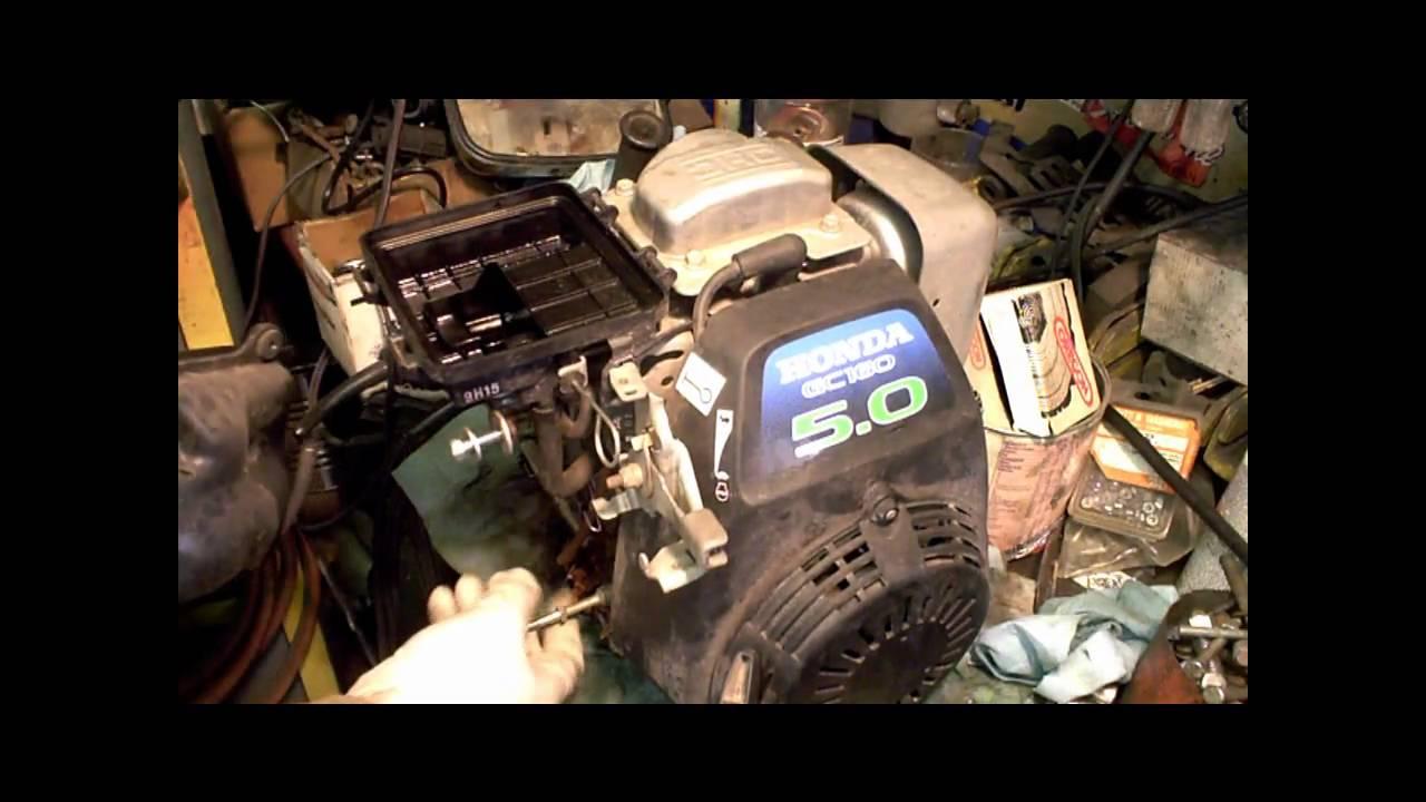 honda gc160 gc190 carb rebuild gcv160 part 2 of 2 youtube. Black Bedroom Furniture Sets. Home Design Ideas