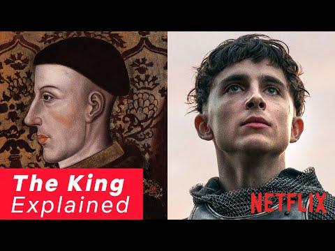 The Real Story Behind TimothéeChalamet's Henry V | The King | Netflix