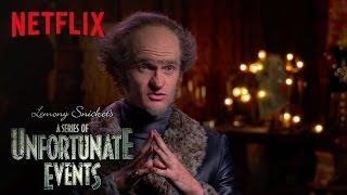 Lemony Snicket's A Series of Unfortunate Events | An Unfortunate Actor on Acting | Netflix