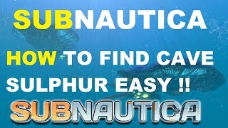 Subnautica Crafting How To Make A Computer Chip
