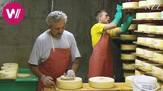Cheesemaking - visiting a Swiss dairyman
