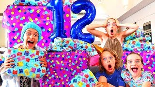 SOCKIE NEVER EXPECTED THIS PRESENT... | Sockie Norris 12th Birthday Party