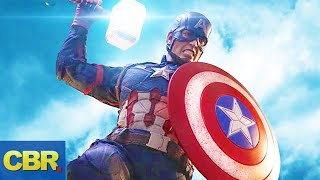 10 Reasons Why Captain America Is Worthy Of Lifting Mjolnir