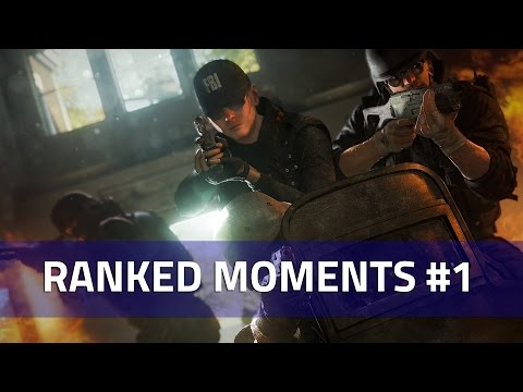 Ranked Moments #1 - Rainbow Six Siege