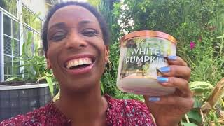 Bath And Body Works White Pumpkin Candle Review Relaxing Sunday Morning