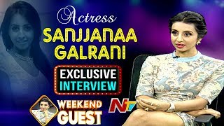Actress Sanjana Interview- Weekend Guest..
