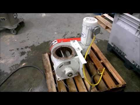 "Used MAC 8"" Diameter Rotary Airlock Valve Model HD10X8"