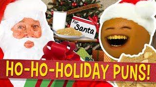 Annoying Orange - Christmas Puns and Jokes!