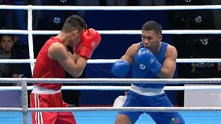 Eumir Marcial scored GOLD MEDAL (via KO) in men's middleweight division | 2019 SEA Games