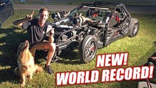 Leroy RETAKES The Stick Shift Corvette WORLD RECORD!!! *EXTREME FREEDOM WARNING*