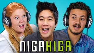 TEENS REACT TO NIGAHIGA (RYAN HIGA)