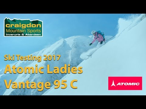 Atomic Vantage Women 95 C + Warden 11 Binding