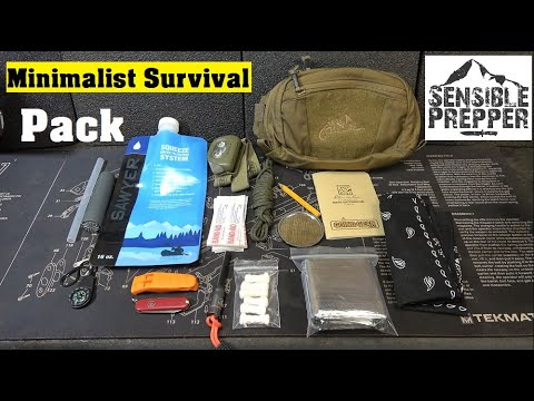 Minimalist Survival Waist Pack