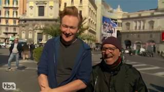 [KOR SUB] 조든 슐랜스키가 나폴리에서 코난 오브라이언에게 커피 강의를 하다 2부 (#conanitaly)