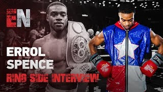 Errol Spence Ring Interview & Charlo Reaction To Wilder Vicious KO EsNews Boxing