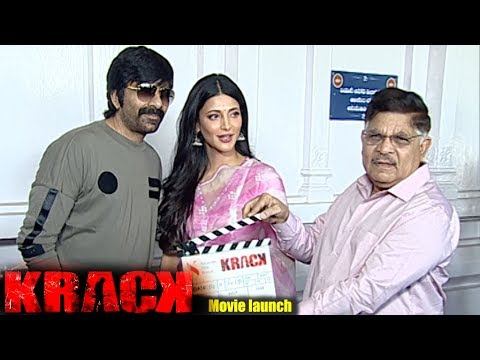Krack Movie Muhurtham and launch