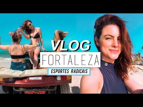 Vlog :: Realizei um Sonho em Fortaleza! - Esportes Radicais