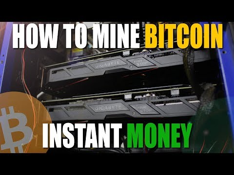 How to start Bitcoin mining for beginners (Super Easy With NiceHash Miner)