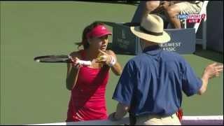 Cirstea vs Cibulkova 'out' incident