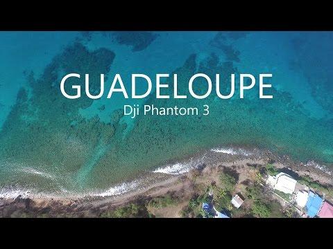 Guadeloupe, Caribbean - Dji phantom 3 - Part 1: One day in Deshaies
