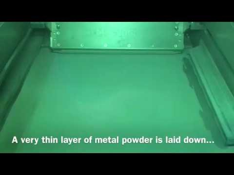 3D Metal Printing - How It Works in 60 Seconds