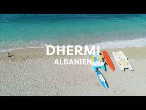 Hold ferie i Dhermi, Albanien