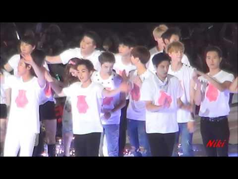 140815 SMTOWN in SEOUL ending XIUMIIN 시우민 FOCUS LUMIN