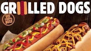Burger King Grilled Hot Dogs Taste Test