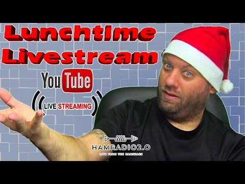 Giving Back - Ham It Forward - Lunchtime Livestream for Ham Radio