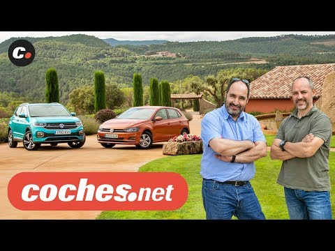 Volkswagen T-Cross SUV vs VW Polo 2019 | Prueba Comparativa / Test / Review en español | coches.net