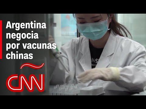 Argentina busca obtener las vacunas chinas de Sinopharm y Sinovac
