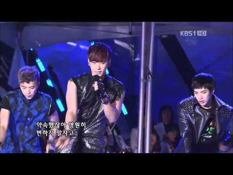 2PM-Hands Up +I'll Be Back @KBS Open Concert