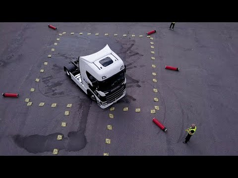 Scania Driver Competitions   Water Challenge