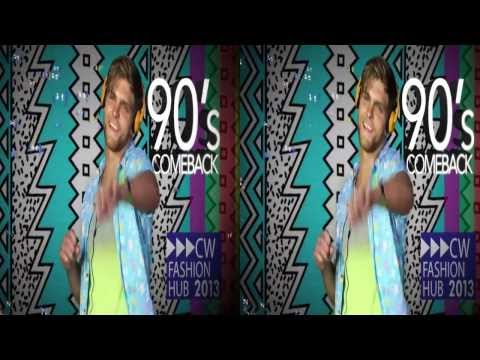 Canal Walk 3D Fashion 2013 - 90's Comeback (3D - HSBS)