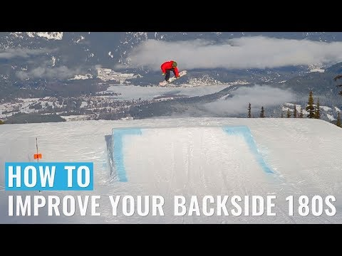 How To Improve Your Backside 180s On A Snowboard